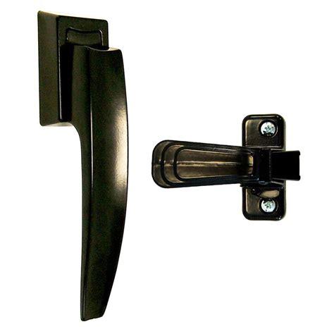 Home Depot Screen Door Handles by Ideal Security Deluxe And Screen Door Lever Handle