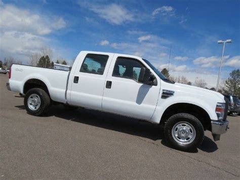 f250 short bed buy used 2010 ford f250 crew cab short bed 6 8 v10 gas