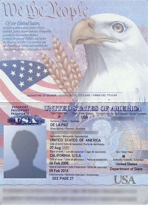 usa id card template united states citizenship certificate