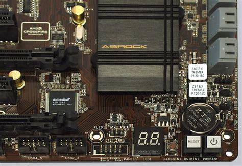 reset bios asrock asrock z87 extreme4 intel lga1150 motherboard review