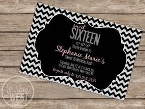 7 best images of sweet 16 invitation cards printable sweet 16 invitations printable free