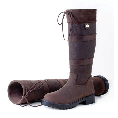 Country Boots 58 Leather rhinegold elite leather country boots