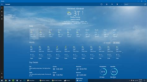 best windows weather app 6 best weather apps for windows 10