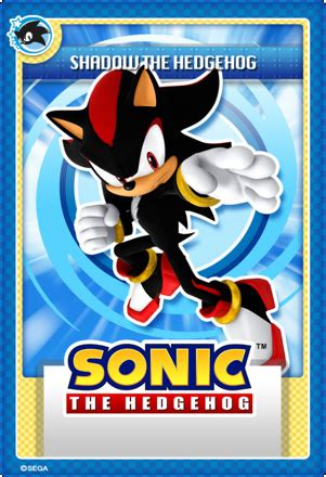 Sonic Gift Card Online - image shadow stii trading card png sonic news network fandom powered by wikia