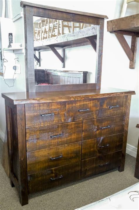 frontier  drawer dresser  mirror lloyds mennonite