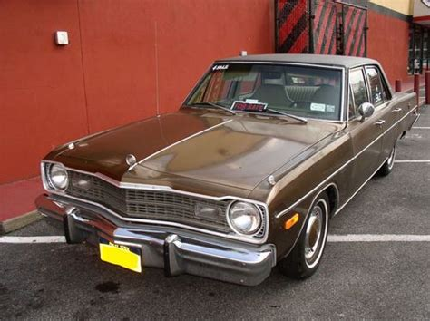 1974 dodge sedan for sale buy used 1974 dodge dart special edition sedan 4 door 3 7l