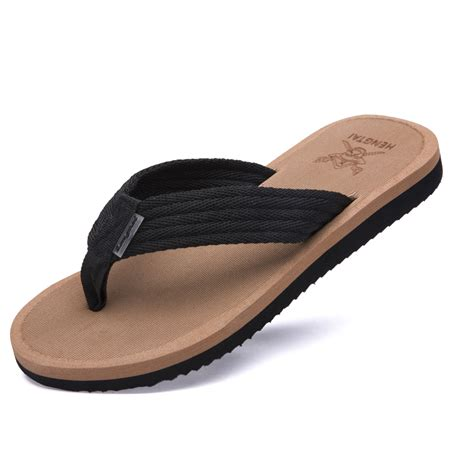 comfortable slippers for slip resistant mens flip flops slippers summer sandals