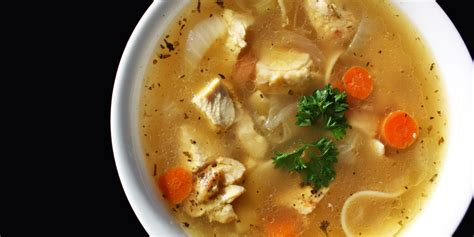 chicken soup really is jewish penicillin for your cold