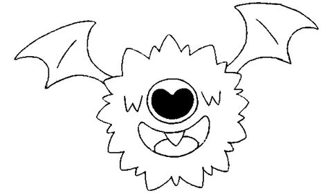 woobat pokemon coloring pages coloring pages pokemon woobat drawings pokemon