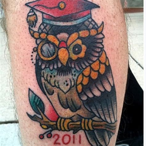 wise owl tattoo designs wise owl school