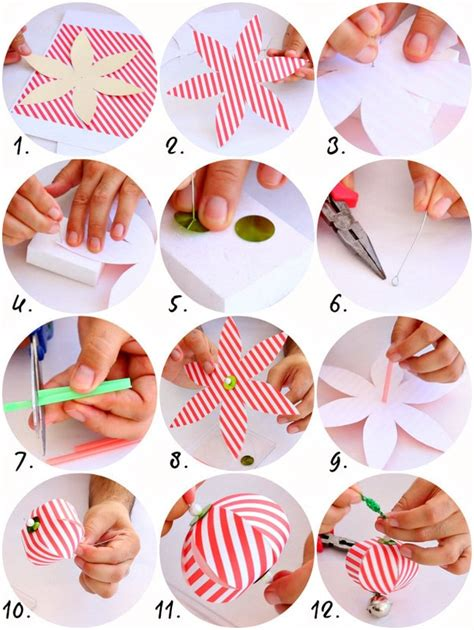 How To Make Ornaments Out Of Paper - paper ornaments 183 how to make a of paper