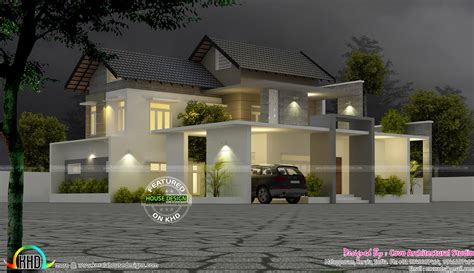 4bhk house cute modern 4 bhk house kerala home design and floor plans
