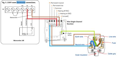 boiler thermostat wiring wiring diagram with description