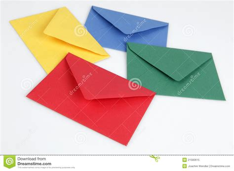 colorful envelopes colorful envelopes royalty free stock photo image 21580615