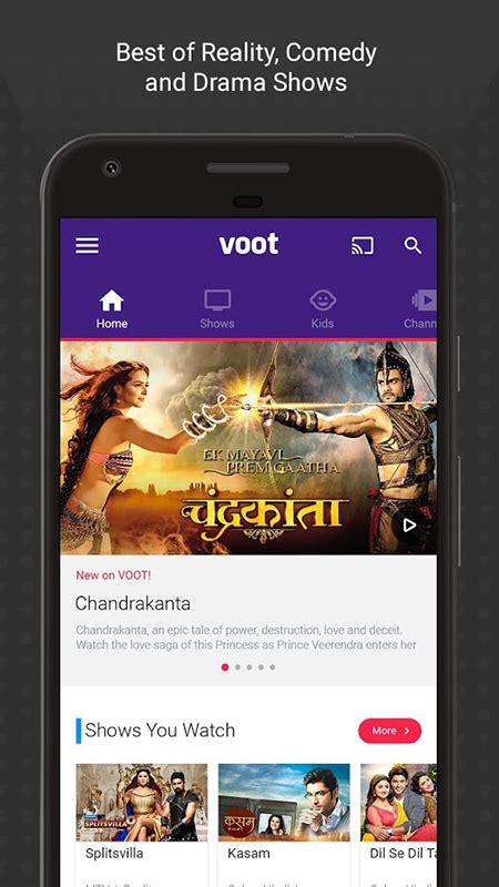 voot tv serial free voot tv shows movies cartoons apk download for