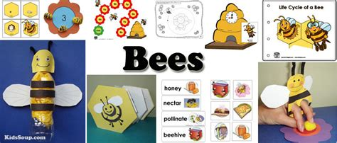 kindergarten activities bees bees crafts activities lessons games and printables