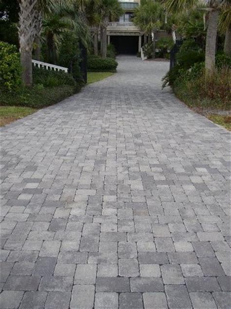 Concrete Paver Patio Tumbled Cobblestone Concrete Paver Driveway Driveways Pinterest Concrete Pavers Driveways