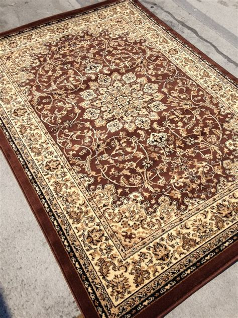 Area Rugs 8x10 by Brown Style Area Rug 8x10 Carpet Tabriz