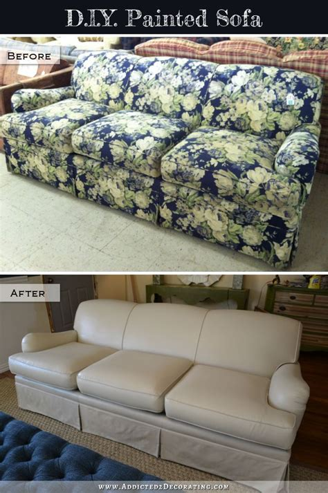 painting couch fabric best 25 painted sofa ideas on pinterest painted couch