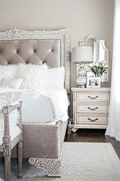 stylish bedroom inspiration  nightstand decor