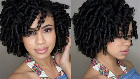 how to do a perm rod set on short relaxed hair perm rod set tutorial on natural hair feat true by made