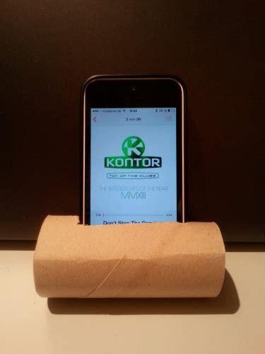 Bastelideen Mit Wenig Material by Smartphone Lautsprecher Aus Klopapierrolle Basteln Chip