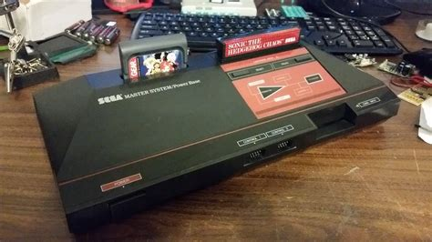 The Of Mastering Systems by Custom Sega Master System With Built In Gear Cart