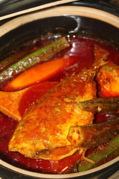 ikan asam pedas asam pedas ikan selar yummy food pinterest