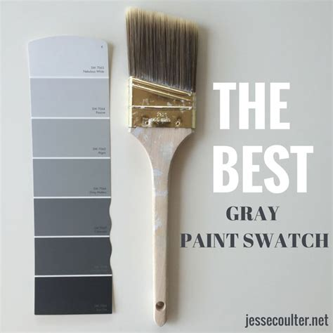 the best gray paint swatch sherwin williams paint projects grey and