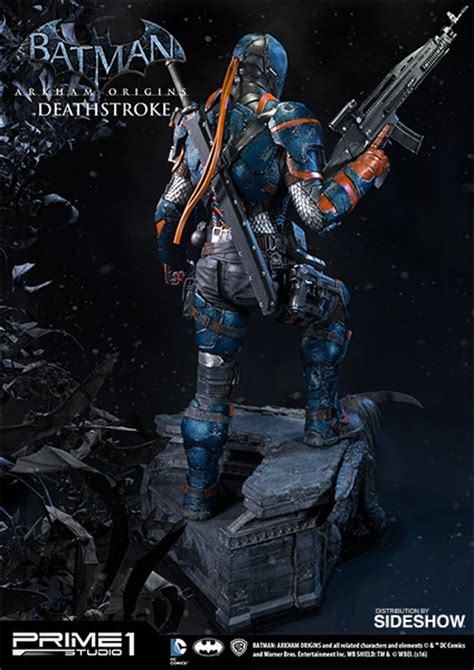 Statue Prime One Deathstroke dc comics deathstroke statue by prime 1 studio sideshow collectibles