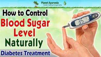 how to blood sugar level naturally diabetes