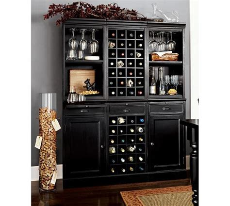 Hutch Bar Modular Bar System With 1 Wine Hutch 2 Open Hutch