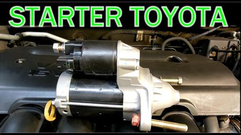 starter toyota corolla 2003 how to replace starter in a toyota corolla 2003 2008