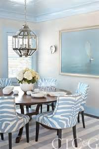 Blue And White Dining Room by Blue And White Interiors Celebrate Amp Decorate