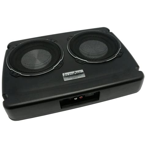 Panasonic Aktiv Subwoofer Auto by Usw12 Dual Underseat Active Subwoofer System 600 Watts With