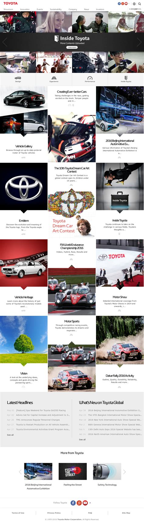 toyota company website toyota competitors revenue and employees owler company