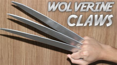 How To Make A Paper Wolverine - how to make a wolverine claws