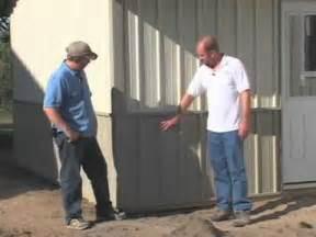 Monitor Barn House Steel Pole Barn Affordable Steel Pole Barns Youtube