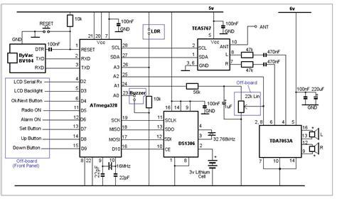 arduino bedside alarm clock radio page 1