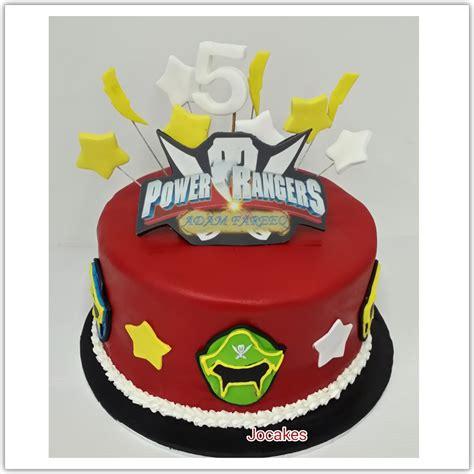 power rangers cake jocakes