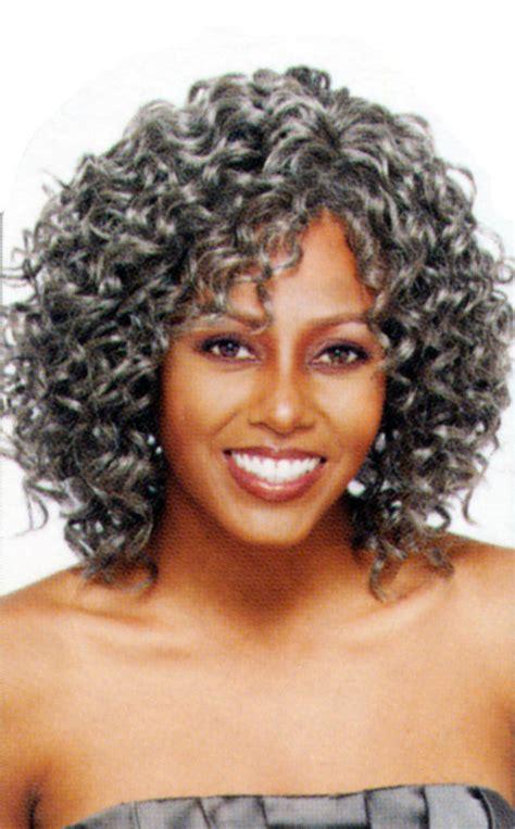 mixed grey afro wigs for old man fgw 0041 buy wigs for gray grey silver vanessa medium curly gypsy wig oprah 2 ebay
