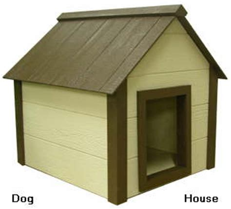 house of dog called heated dog house