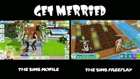 play for mobile the sims mobile vs the sims freeplay