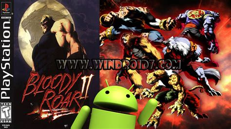 bloody roar 1 2 bin para android y psx ps1 epsxe todo para tu android