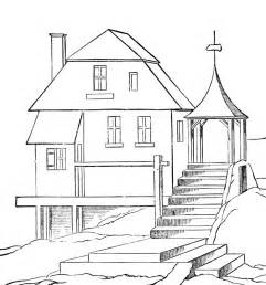 Big House Coloring Pages &gt&gt Disney sketch template