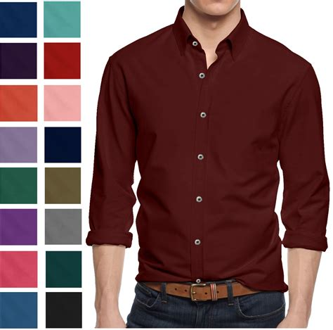 Eyeshield 21 18 Mens T Shirt alta s sleeve button cotton slim fit pointed