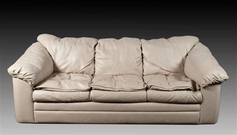 A Fine Leather Down Hide A Bed Sofa Leather Hide A Bed Sofa