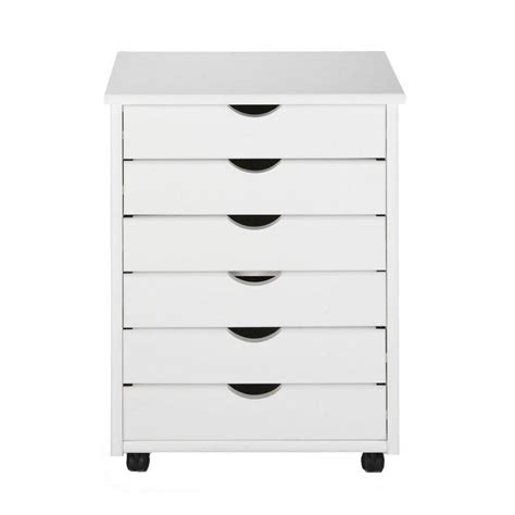 Wide Storage Drawers by Home Decorators Collection Stanton 6 Drawers Wide Storage