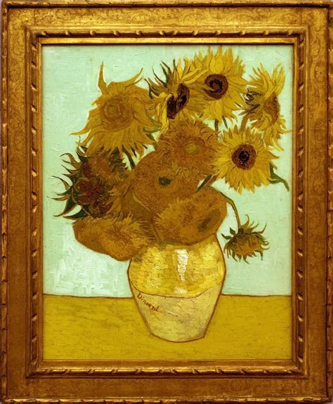 file vase with twelve sunflowers jpg wikimedia commons