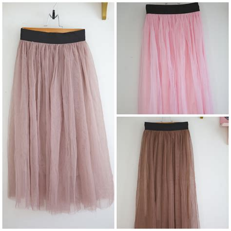 tulle skirt for in six colors on storenvy